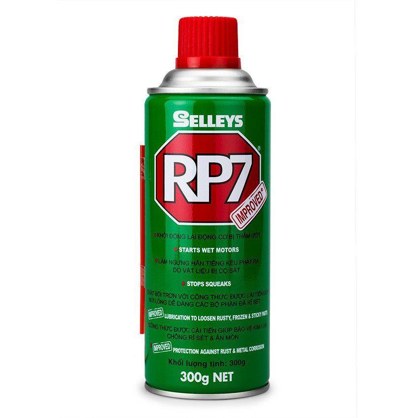 Dung môi tẩy gỉ sét và bôi trơn kim loại Selleys RP7